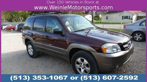 2002 Mazda Tribute LX SUV Tribute Mazda