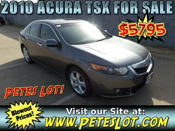 2010 Acura TSX - Fully Loaded Acura Turbo