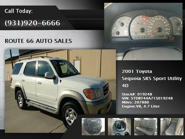 2001 Toyota Sequoia SUV SR5 Sport Utility 4D