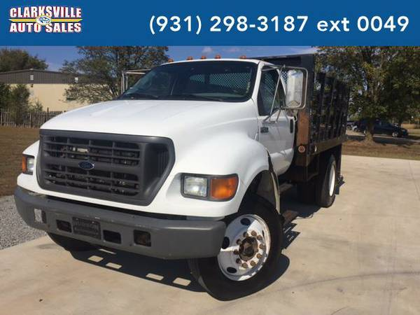 2001 *Ford F-650* Unspecified (white)