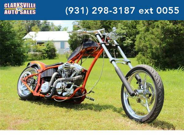 2011 *Harley-Davidson Custom Chopper* ERNIE LYNN CUSTOM (Orange)