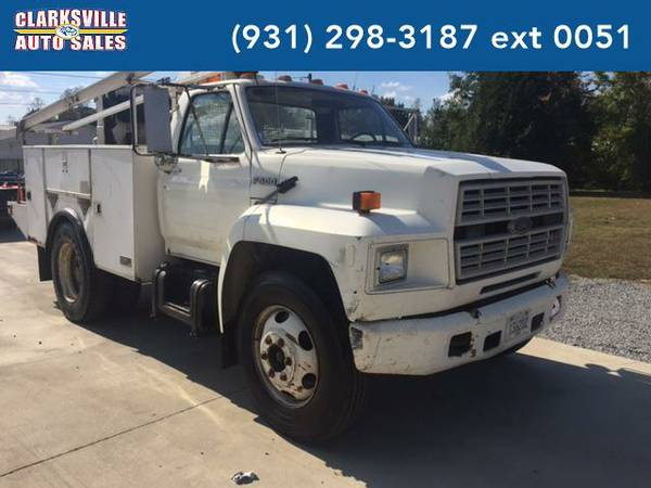 1991 *Ford F-600* Unspecified (white)