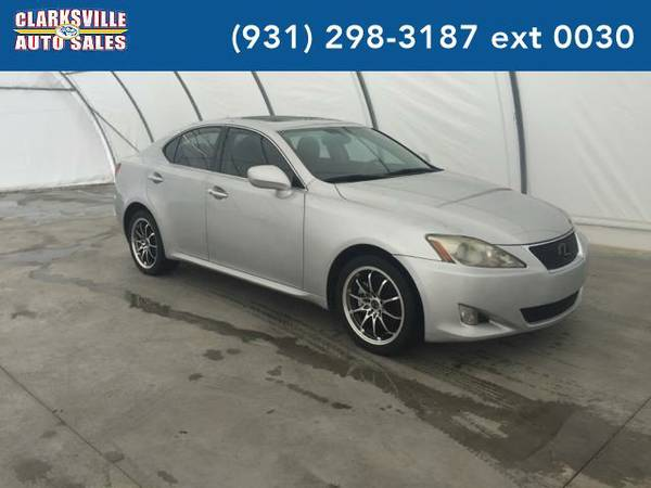 2007 *Lexus IS 250* Base AWD 4dr Sedan (2.5L V6 6A) (Silver)
