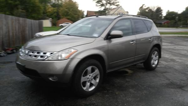2004 Nissan Murano SL, AWD, 108k miles, LOADED