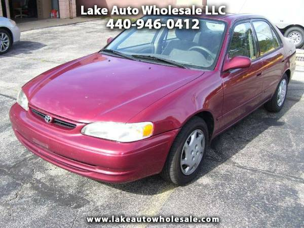 1999 TOYOTA COROLLA LE 4cyl-Auto GasSaver DealerMaintained WinterReady