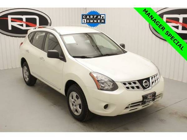 2015 *Nissan Rogue Select* S (Pearl White)