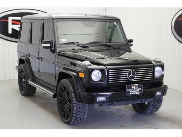 2006 *Mercedes-Benz G-Class* G500 (Black)