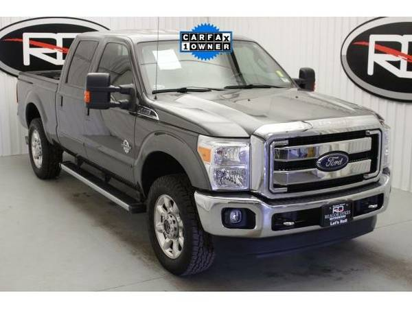 2015 *Ford F-250SD* Lariat (Magnetic Metallic)