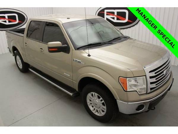 2013 *Ford F-150* Lariat (Pale Adobe Metallic)