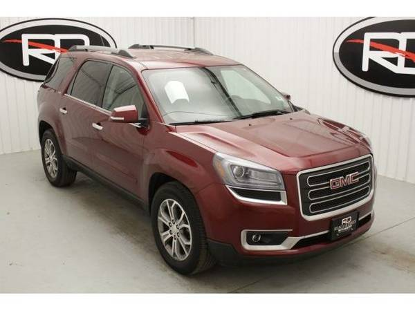 2015 *GMC Acadia* SLT-1 (Crimson Red Tintcoat)