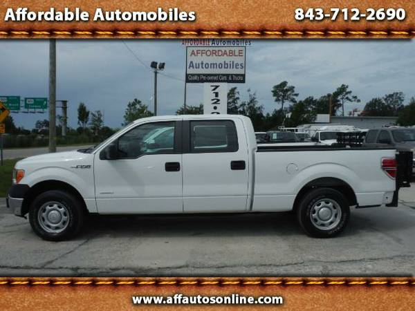 2013 Ford F-150 F-150 Crew Cab Work Truck With Liftgate