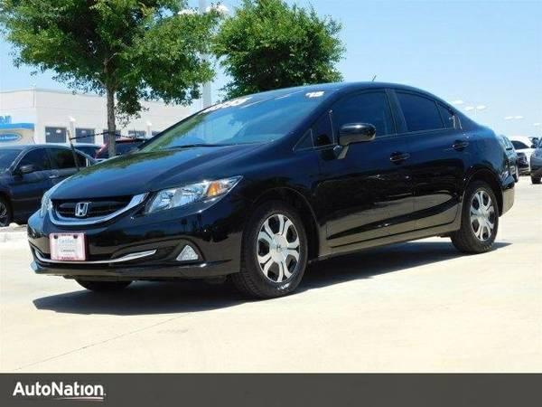 2015 Honda Civic Hybrid SKU:FE200259 Honda Civic Hybrid Sedan