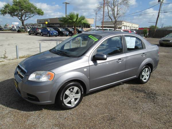 ONLY 62,576 MILES - 2008 Chevrolet Aveo LS 4dr auto