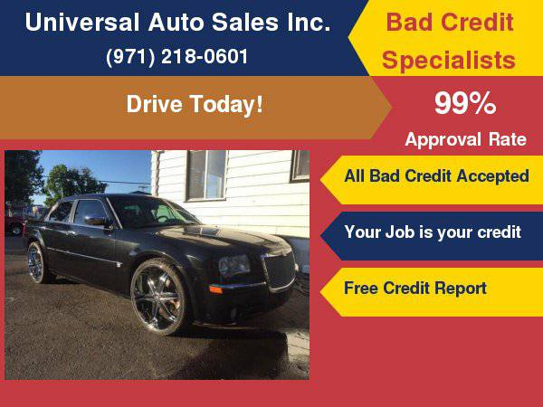 2006 Chrysler 300 C 4dr Sedan No Credit, Bad Credit, BK, SSI, SSD