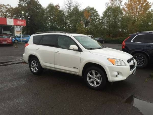 2011 *Toyota* *RAV4* *4WD 4dr V6 5-Spd AT Ltd (Natl)* Sport Utility