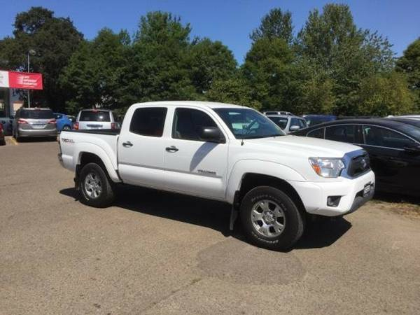 2012 *Toyota* *Tacoma* *2WD Double Cab V6 AT PreRunner (Nat* Crew Cab