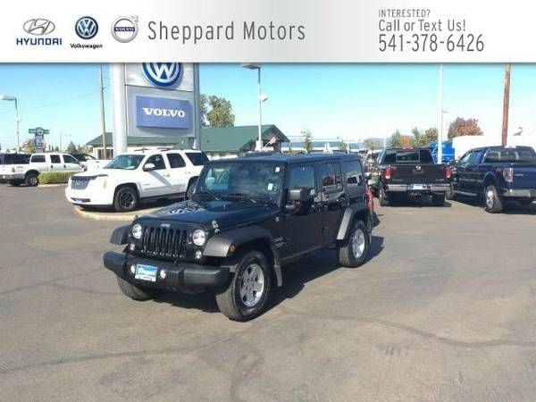 2014 Jeep Wrangler Unlimited 4WD 4dr Sport SUV Wrangler Unlimited Jeep