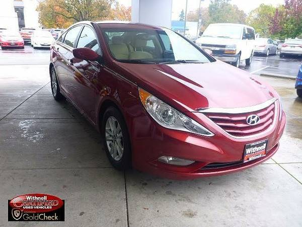 2013 *Hyundai*Sonata* 4dr Sdn 2.4L Auto GLS - (RED) *Hyundai*Sonata*