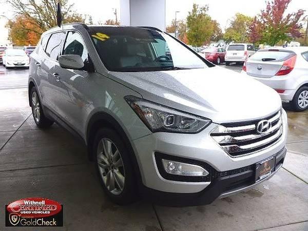 2014 *Hyundai*Santa Fe Sport* AWD 4dr 2.0T - (SILVER) *Hyundai*Santa...