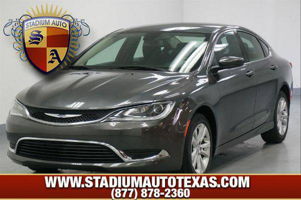 2016 *Chrysler* *200* ~ Over 500 vehicles to choose from ~