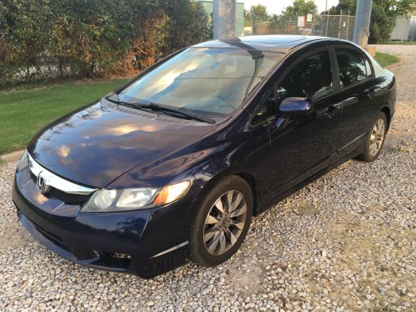2009 HONDA CIVIC WHEEL Sunroof