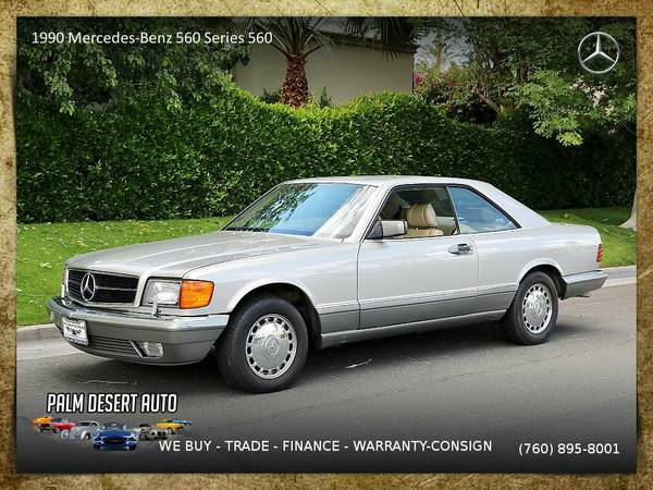 1990 Mercedes-Benz 560 Series 560 SEC Super Clean Coupe is clean...
