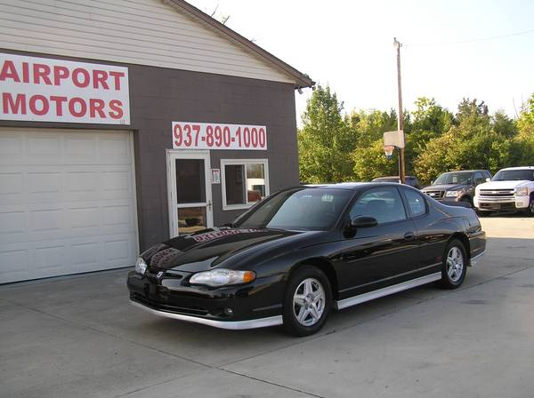 ***2002 CHEVY MONTE CARLO SS 57K MILES (ONE OWNER) ***