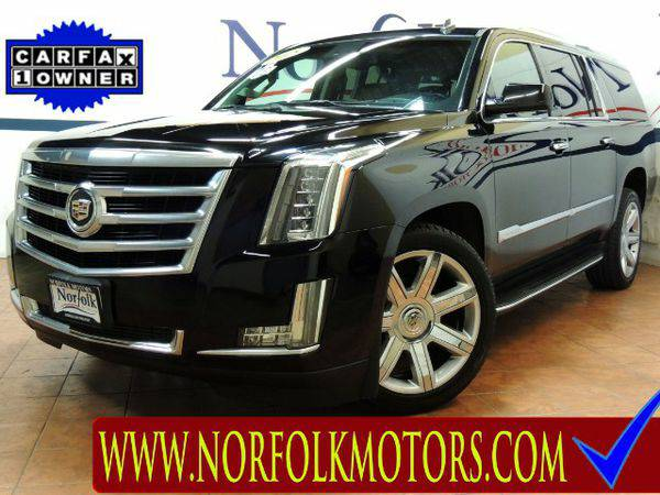2015 *Cadillac* *Escalade* ESV Luxury 4WD -WE FINANCE!!