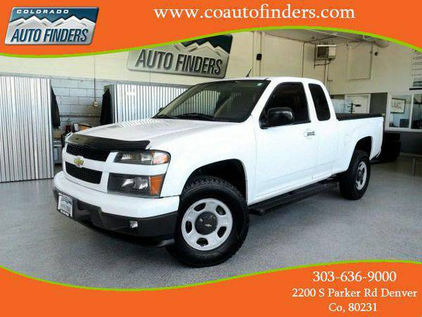 2012 *Chevrolet* *Colorado* Work Truck Ext. Cab 4WD - Call or TEXT! Fi
