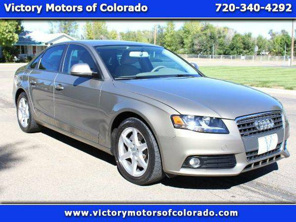 2009 *Audi* *A4* 2.0 T Sedan quattro Tiptronic - Over 500 Vehicles to