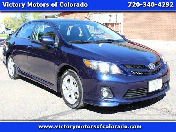 2011 *Toyota* *Corolla* S 4-Speed AT - Over 500 Vehicles to Choose Fro