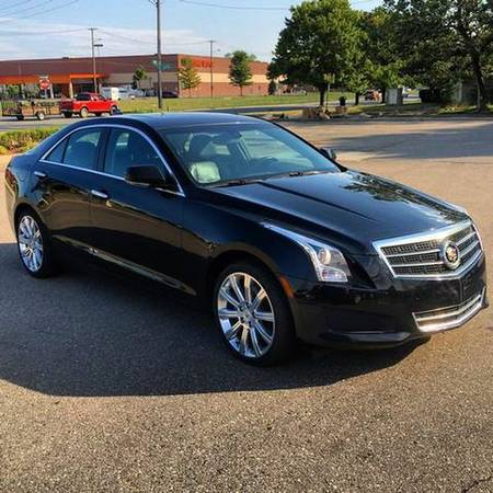 2013 *Cadillac* *ATS* 2.0T Luxury AWD 4dr Sedan -EVERYBODY RIDES PROGR