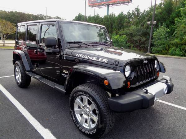2012 Jeep Wrangler Unlimited 4x4 Sahara 4dr SUV Unlimited Sahara