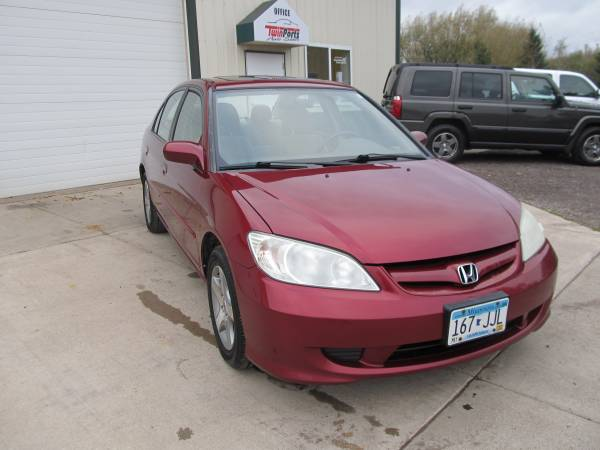 2005 HONDA CIVIC EX SEDAN -1 OWNER -126K MILES-