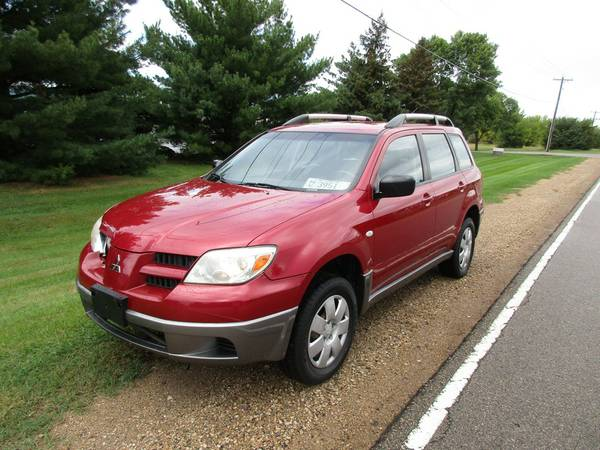 2006 Mitsubishi Outlander AWD, only 93,000m, all pwr, nice
