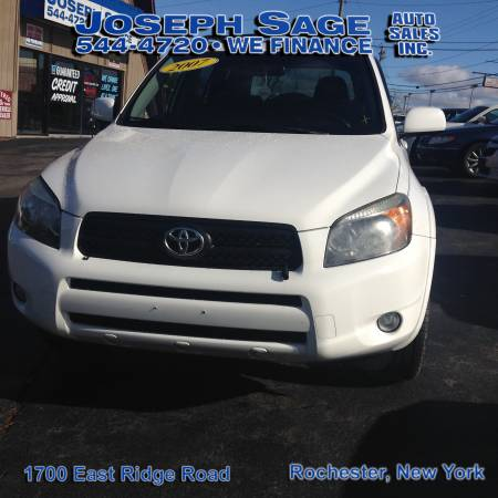 2007 Toyota Rav4 4WD - Get easy auto financing here!