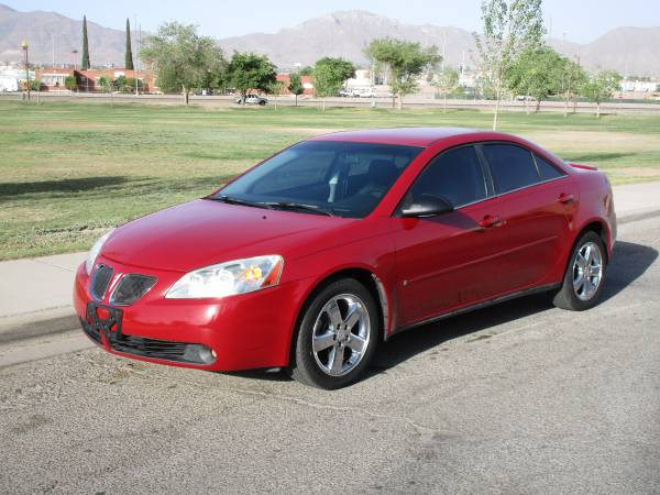 2007 PONTIAC G6 GT! $4500 CASH OR $2000 DOWN AND $300 FOR 24 MONTHS