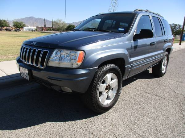 01 JEEP GRAND CHEROKEE LIMITED! 3500 CASH OR 1500 DWN 250 FOR 24 MONTH