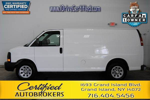 2010 *Chevrolet Express 1500* RWD *Cargo Van* Call or Text Us!
