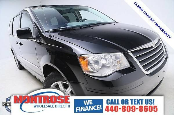 2010 Chrysler Town & Country Touring Van Town & Country Chrysler