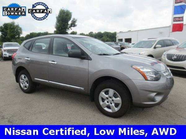 2015 *Nissan Rogue Select* S (Brilliant Silver)