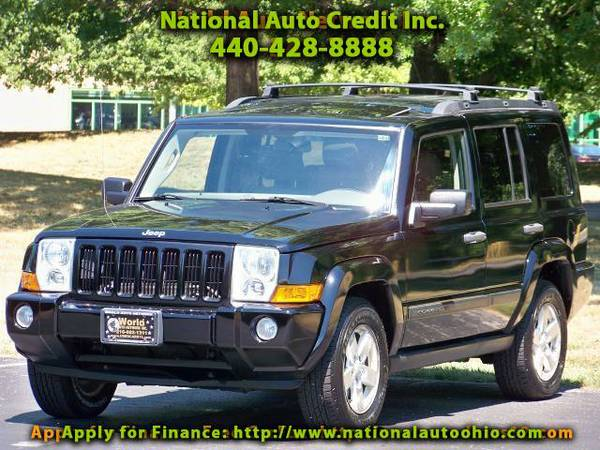 2006 Jeep Commander 1-Owner Vehicle. Low Mileage Vehicle 121k. Towing/
