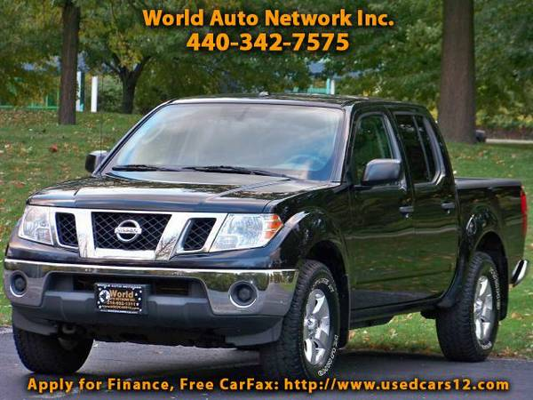 2011 Nissan Frontier SV Crew Cab 4WD. 1-Owner Vehicle. Fully Loaded. W