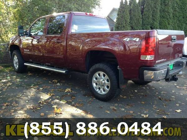 2013 GMC Sierra 2500HD MAROON Awesome value!