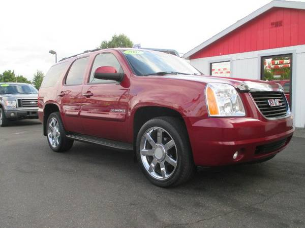 2007 *GMC* *YUKON* *SLT WITH 3RD ROW SEAT* *4x4* *4wd*