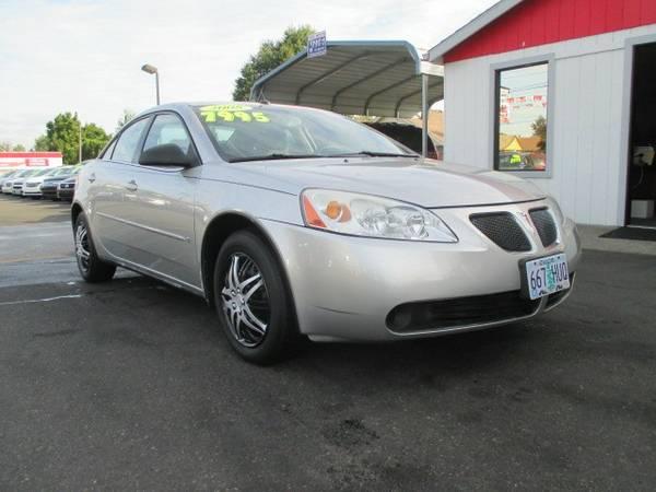2008 *Pontiac* *G6* *Sedan*