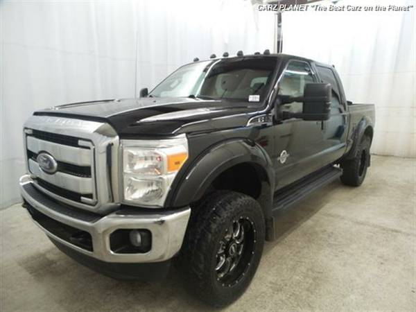 █ 2011 Ford F-350 Super Duty Lariat diesel truck 4x4 ford f350...