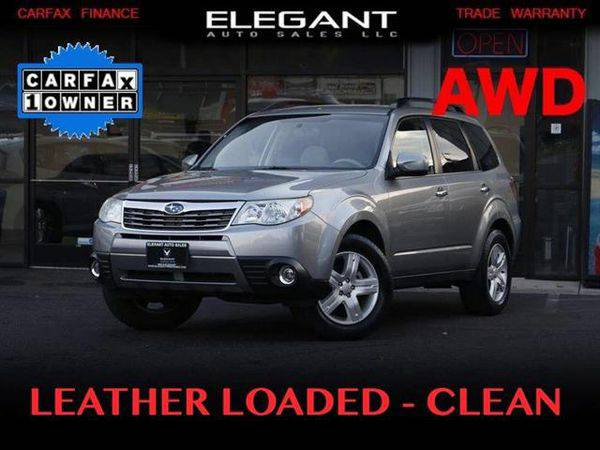 2010 *Subaru* *Forester* 2.5X Limited LEATHER ONE OWNER