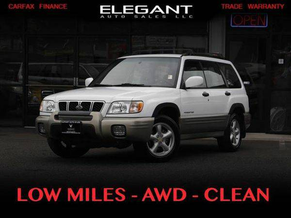 2001 *Subaru* *Forester* S AWD SUPER CLEAN 138K MILES