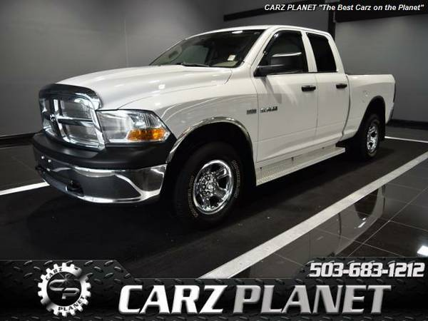 █ 2010 Dodge Ram 1500 4x4 truck low miles dodge ram 1500 4wd...